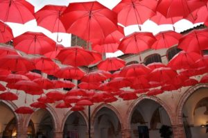 red brollies